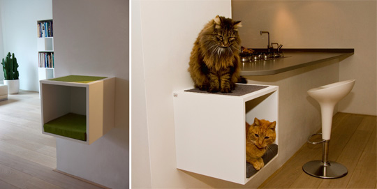 Urbancatdesign modern cat furniture from the netherlands - Sofas para gatos ...