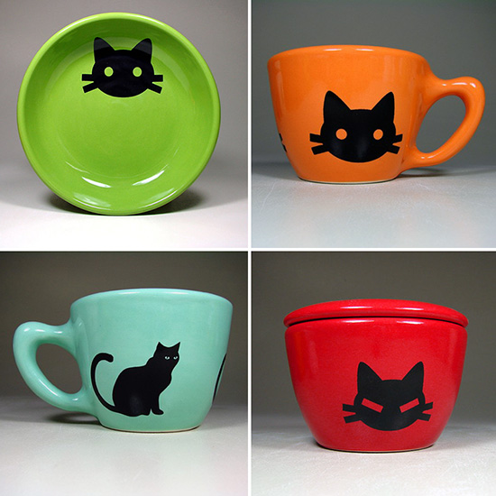Cool kitty ceramics hauspanther for Cool ceramic art