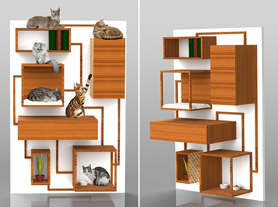 The Cats' House by Japanese architecture firm Fauna