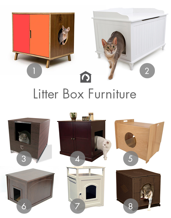 Stylish Ways to Hide the Litter Box • hauspanther