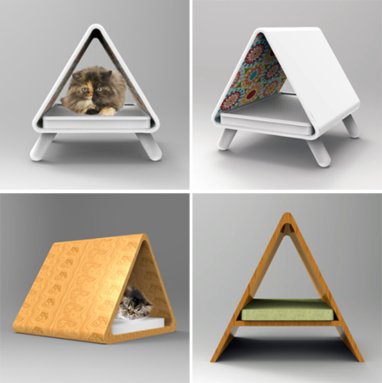 Modern Cat Furniture Concepts From Joshua Thorpe Hauspanther