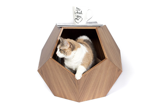 Handcrafted Modern Cat Beds From Pup Kit Hauspanther